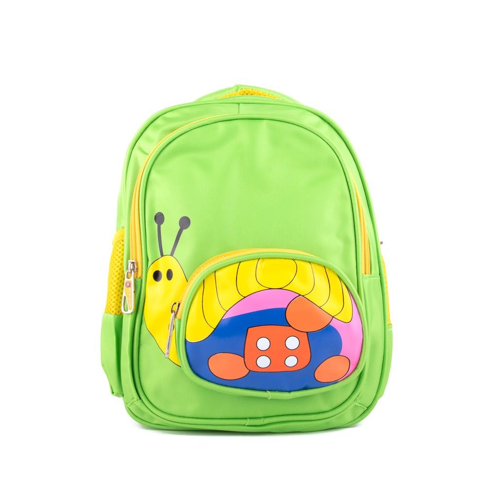 5695b022740 Zelený roztomilý dětský batoh Henrel