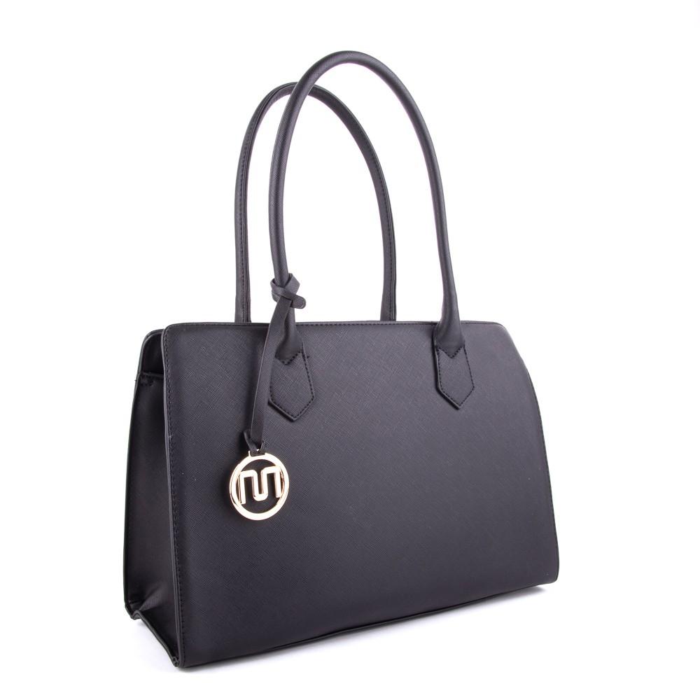 Černá dámská luxusní kabelka Nilen