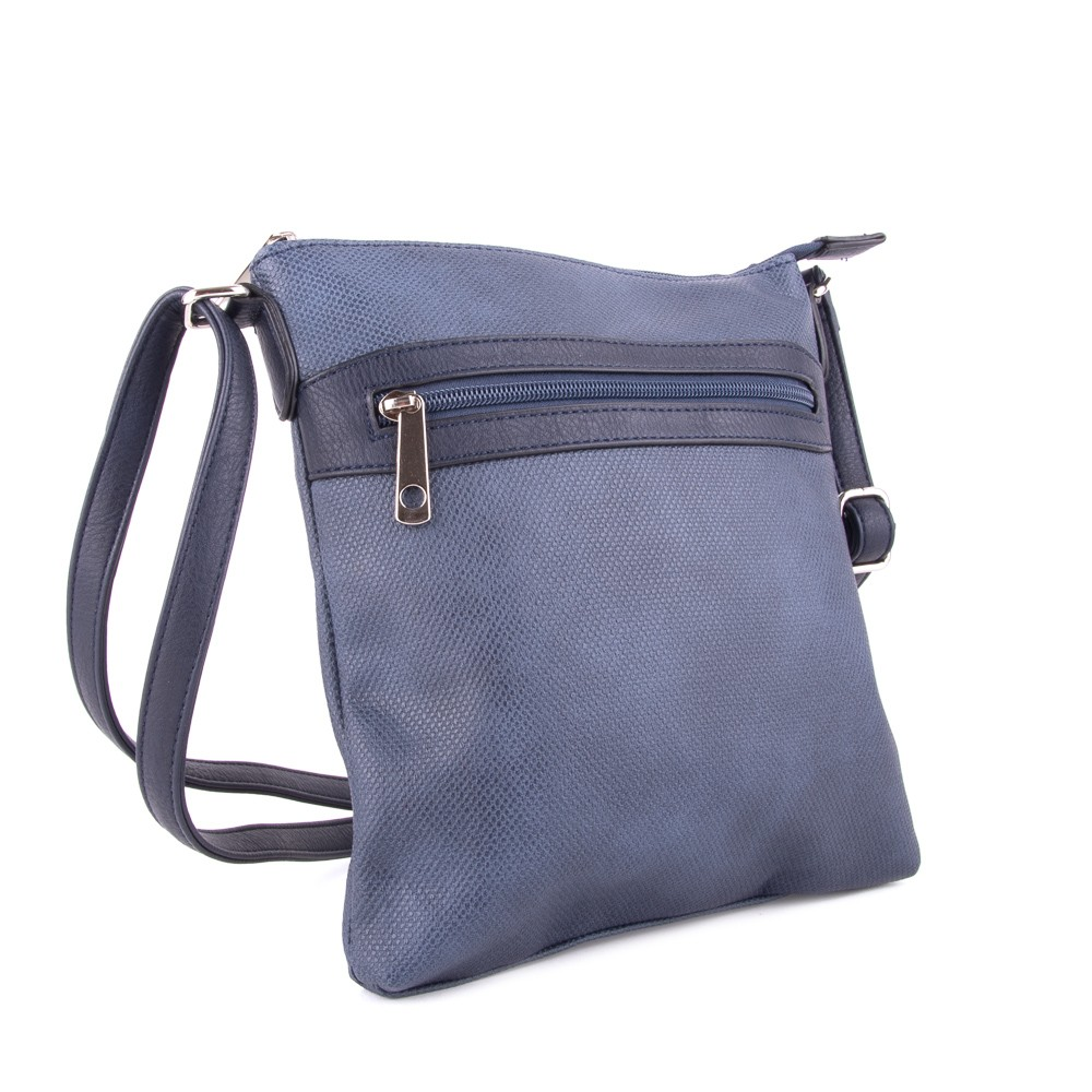 Modrá dámská crossbody kabelka Tebouen