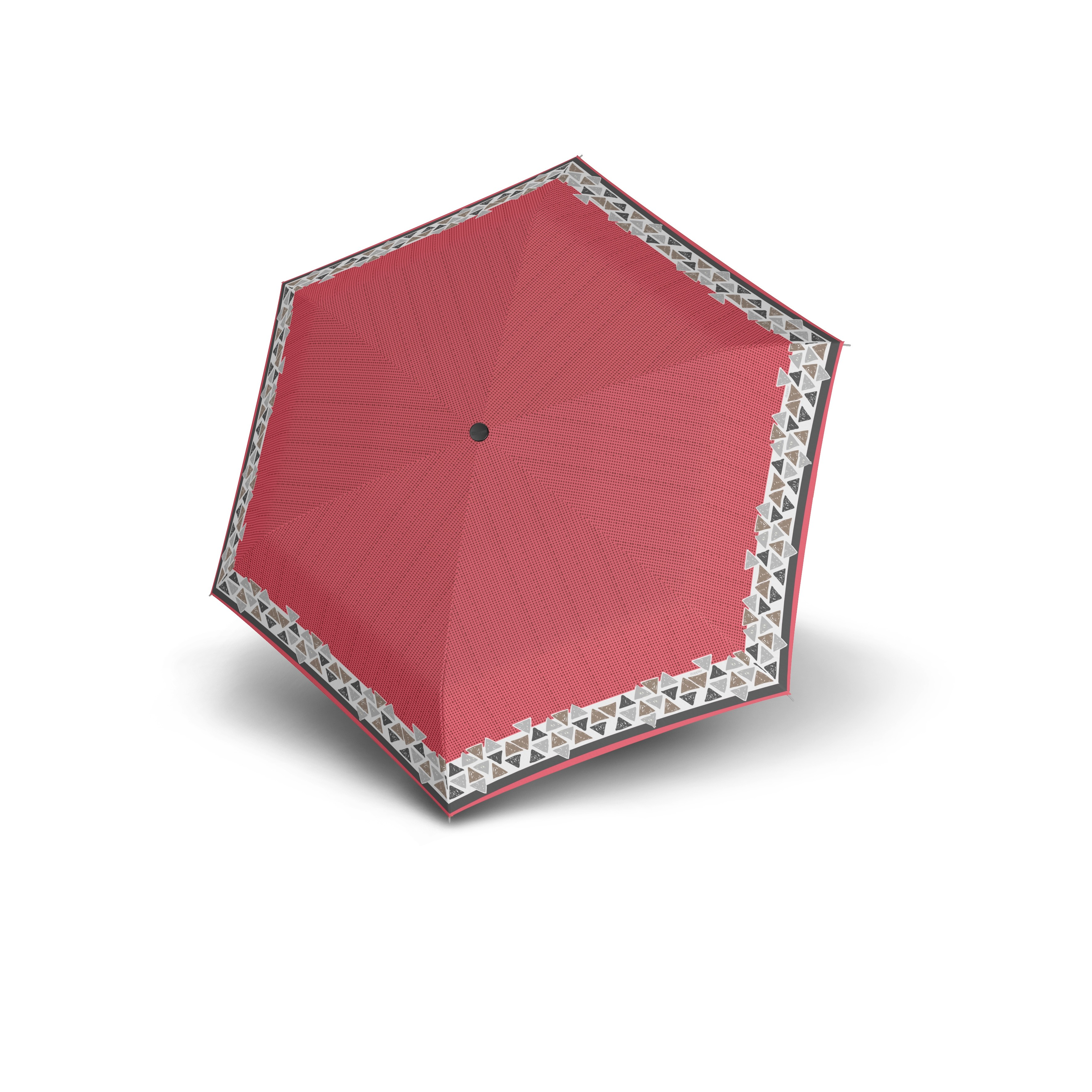 7de53b32fbe Červený skládací mechanický dámský deštník Atakami