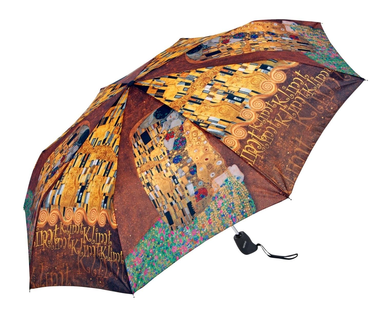 Barevný plně automatický skládací deštník Stephie