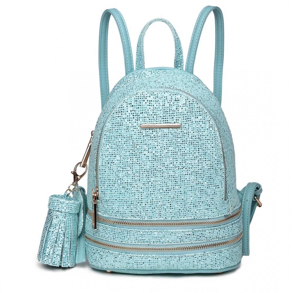 52112f74bb8 Tyrkysový dámský moderní zajímavý batoh Zavien