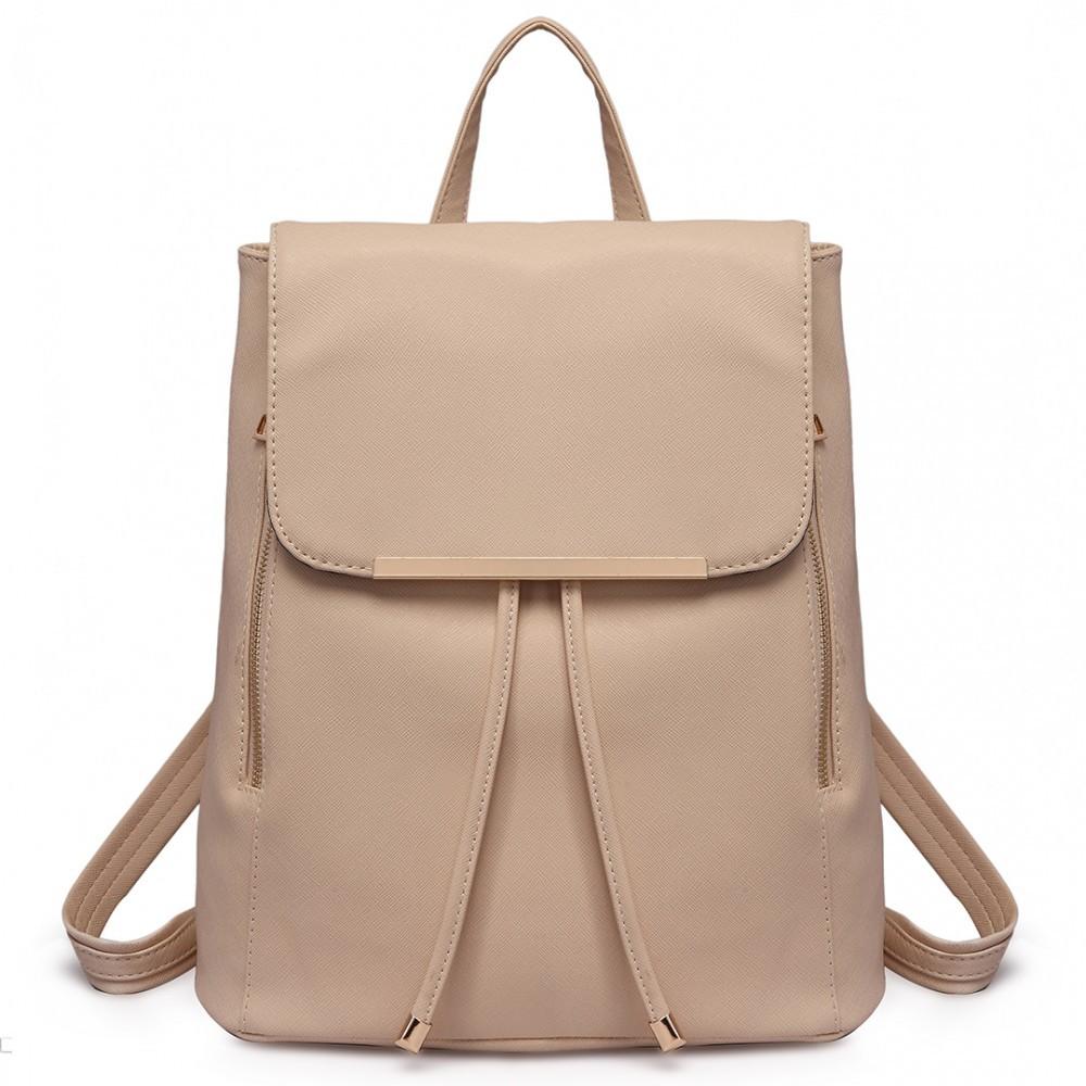 e74194f3441 Béžový stylový dámský modní batoh Frell