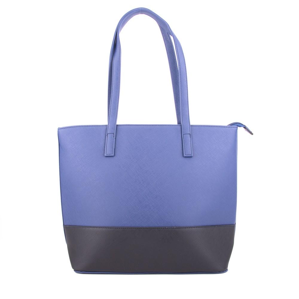 Modrá dámská kabelka do ruyk i přes rameno Pirten
