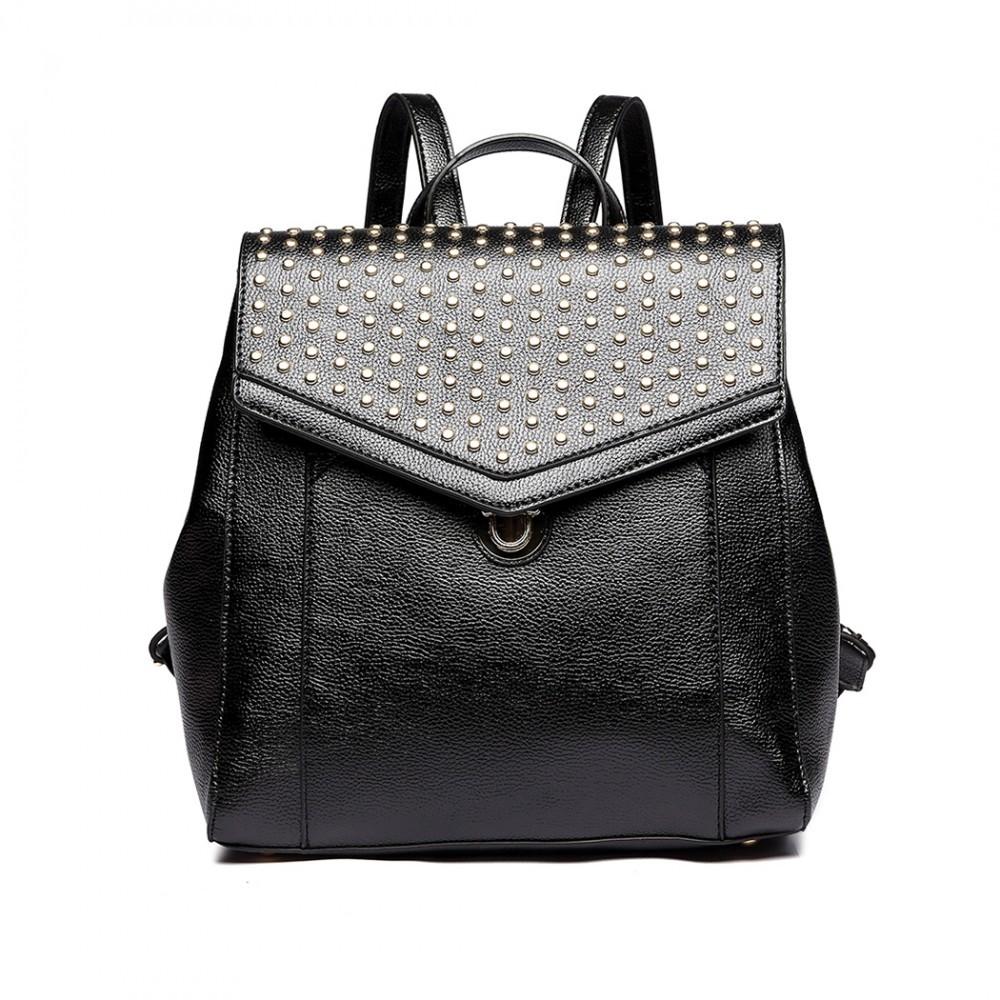 f31460d5ec Černý stylový dámský městský batoh Paulen