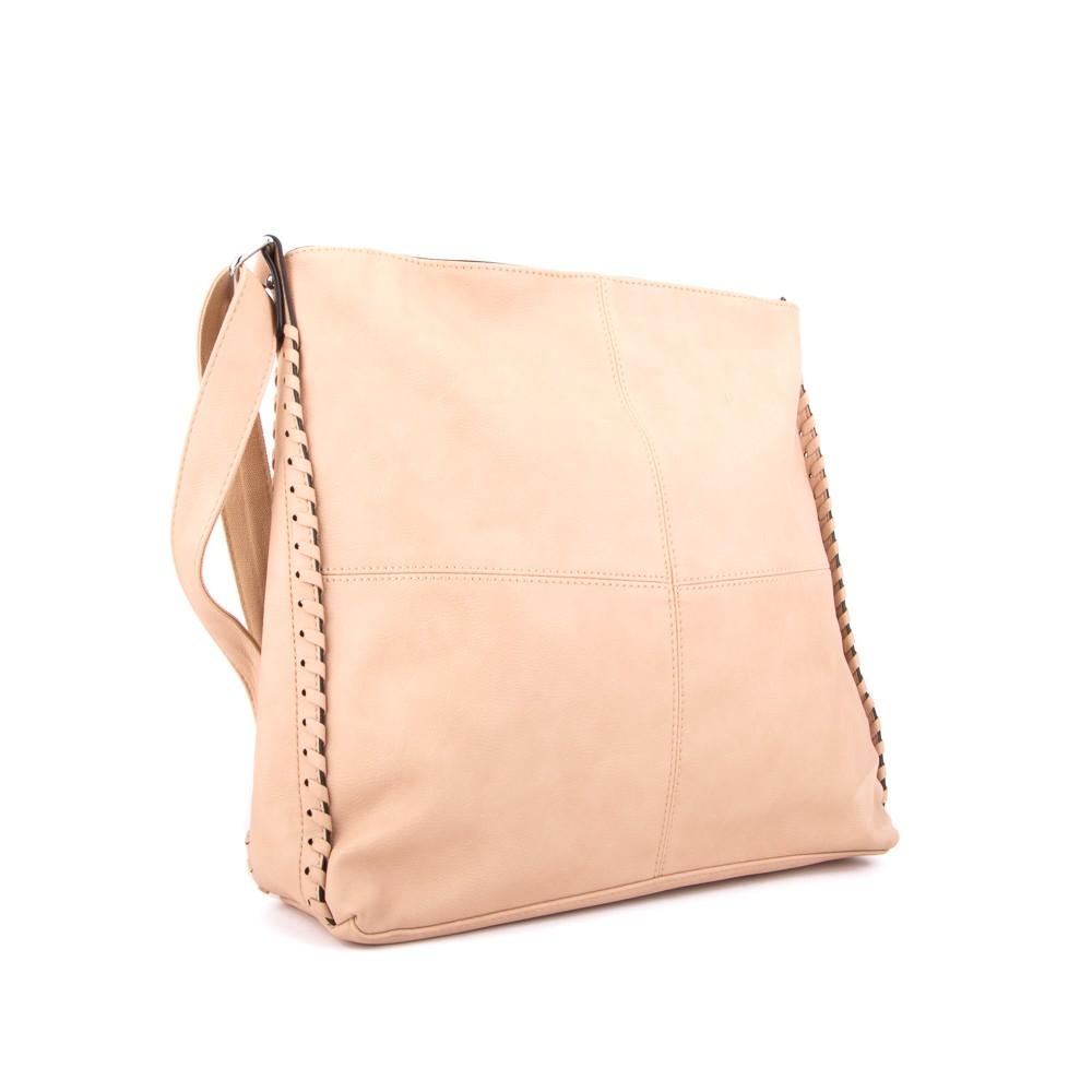 Světle hnědá velká dámská kabelka přes rameno Rollie 289f1c291e
