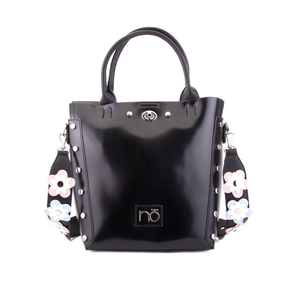 Černá stylová elegantní dámská kabelka Reviel