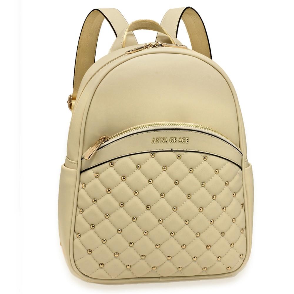 ccfbea27930 Béžový dámský moderní stylový batoh Vikki