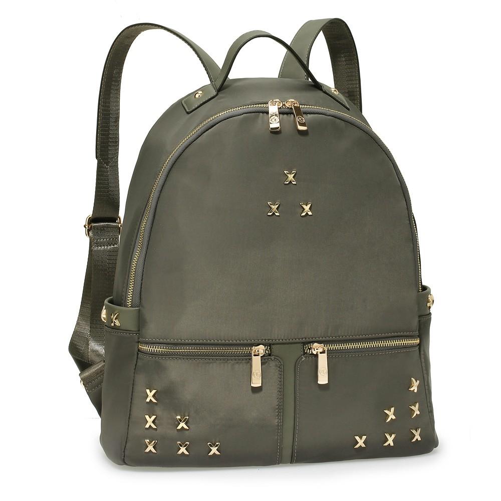 Šedý elegantní dámský batoh Tesen
