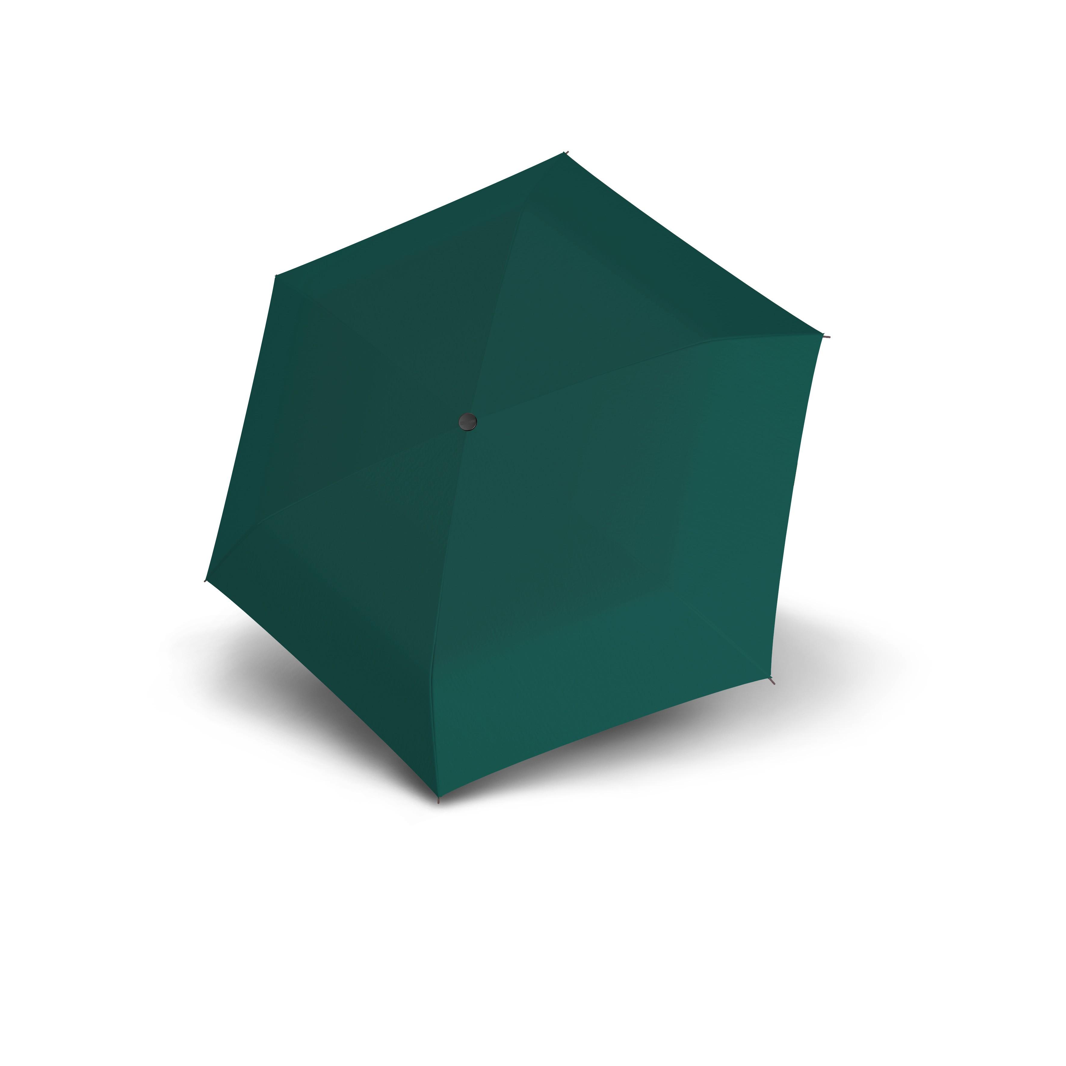 Zelený dámský/dětský lehký skládací deštník Zero