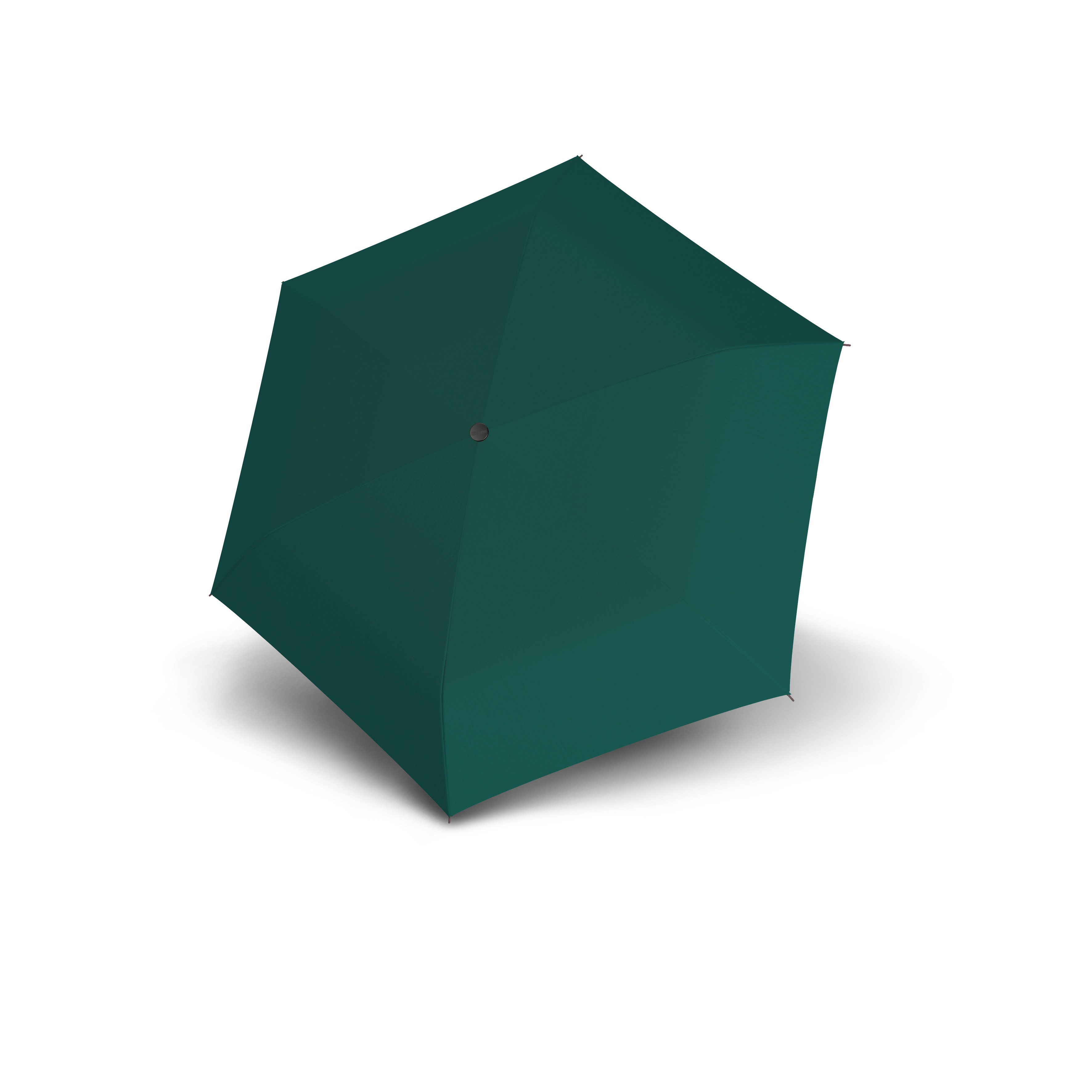 Zelený dámský mechanický skládací ultralehký deštník Nachel