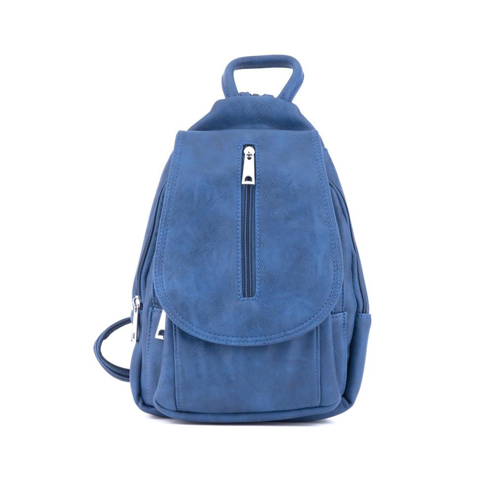 dc740e2f135 Modrý dámský elegantní batoh Kandel