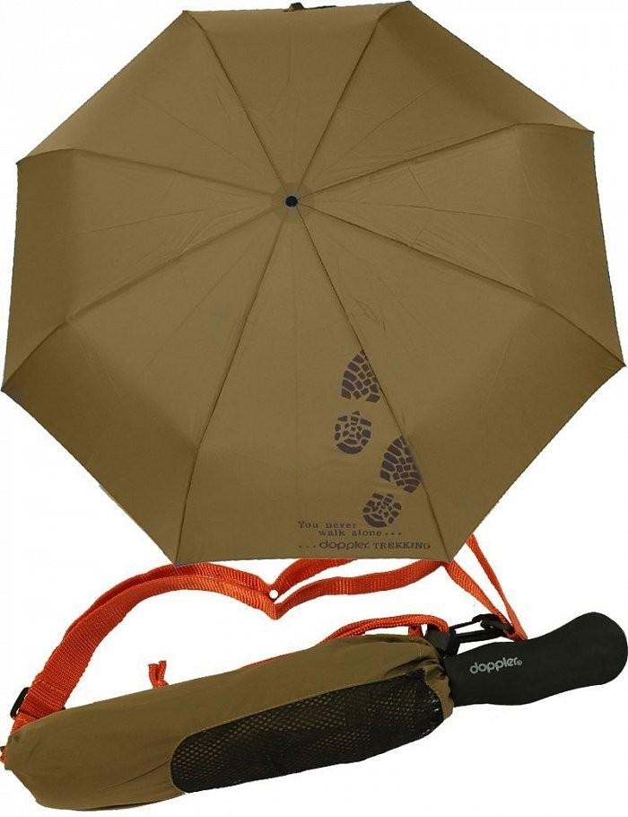 Zelený mechanický skládací deštník Citral