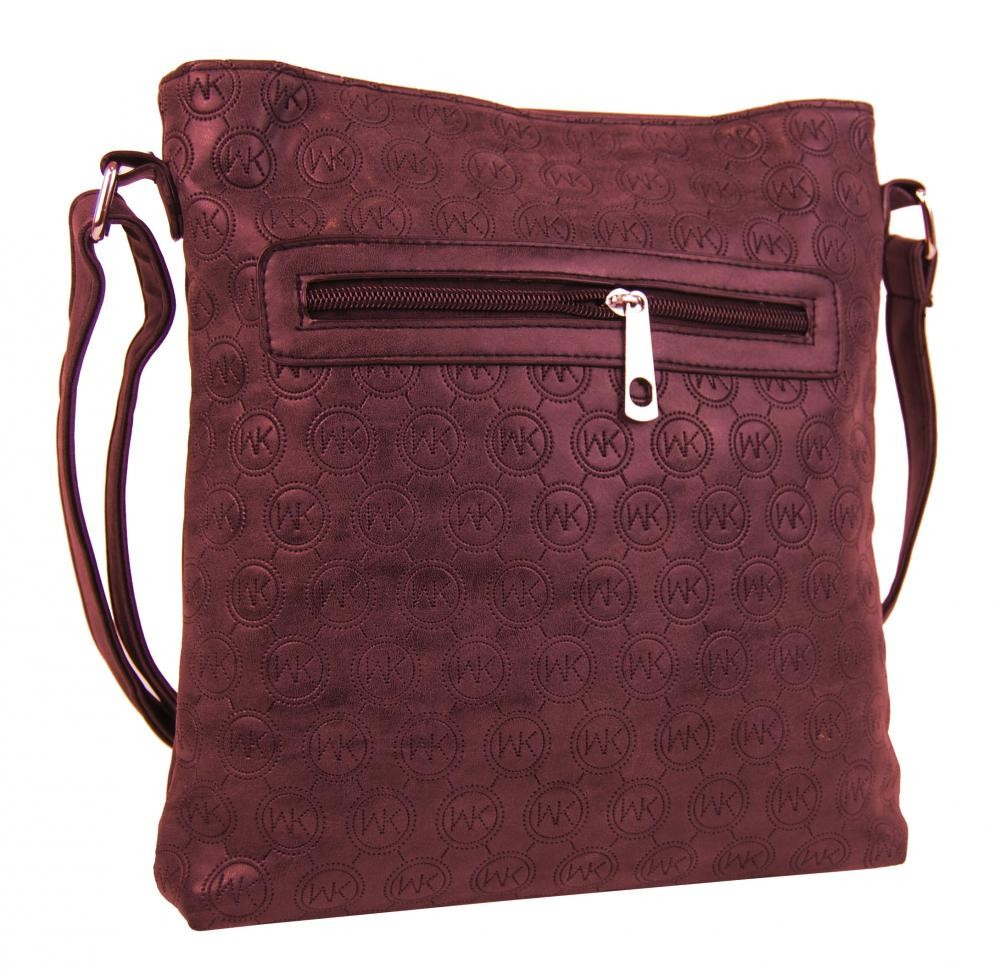 Bordo crossbody kabelka Monica