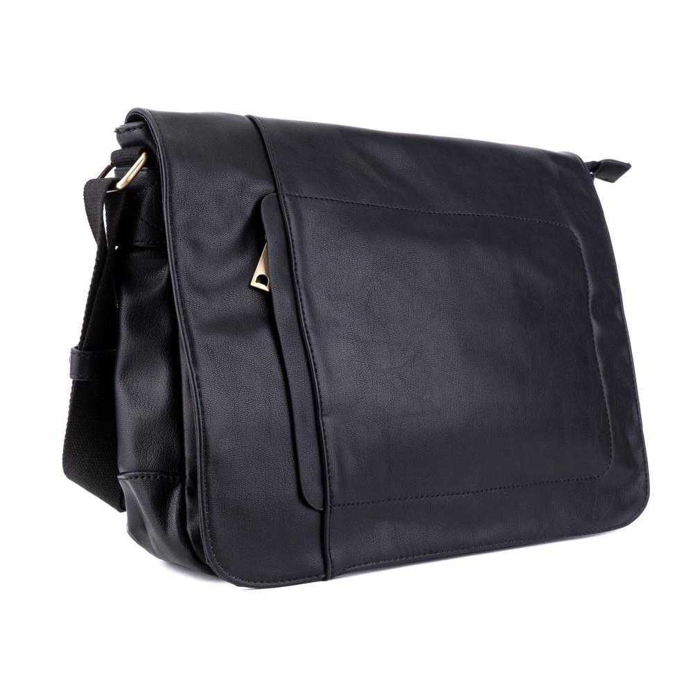 Černá pánská crossbody taška přes rameno Allen