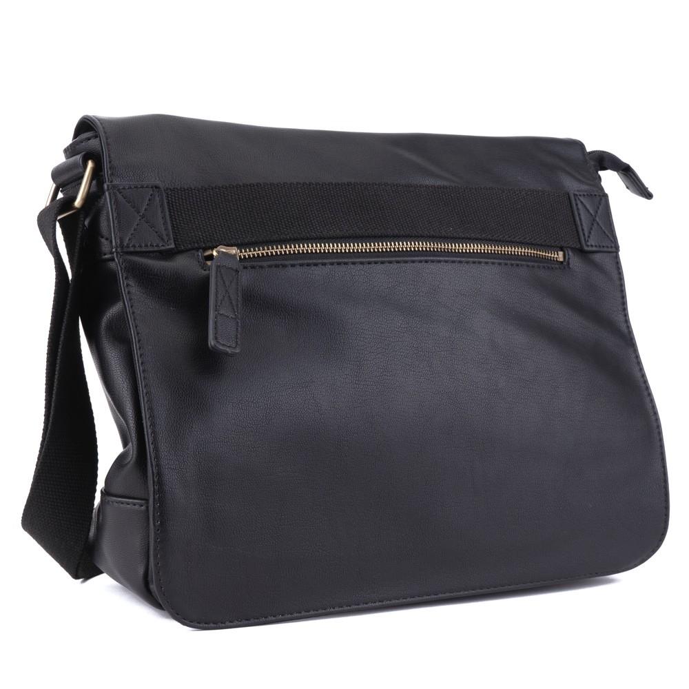 Černá pánská crossbody taška přes rameno Dasien