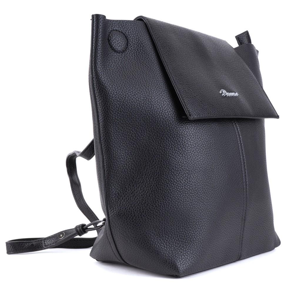 1db1ad20ad Černý moderní dámský batoh Abroo
