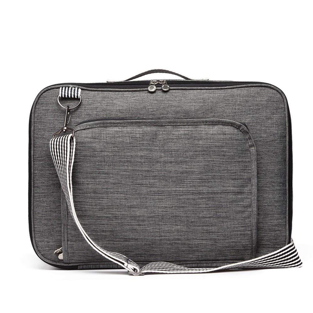 99684c89ca Šedá pánská příruční cestovní taška batoh Acha