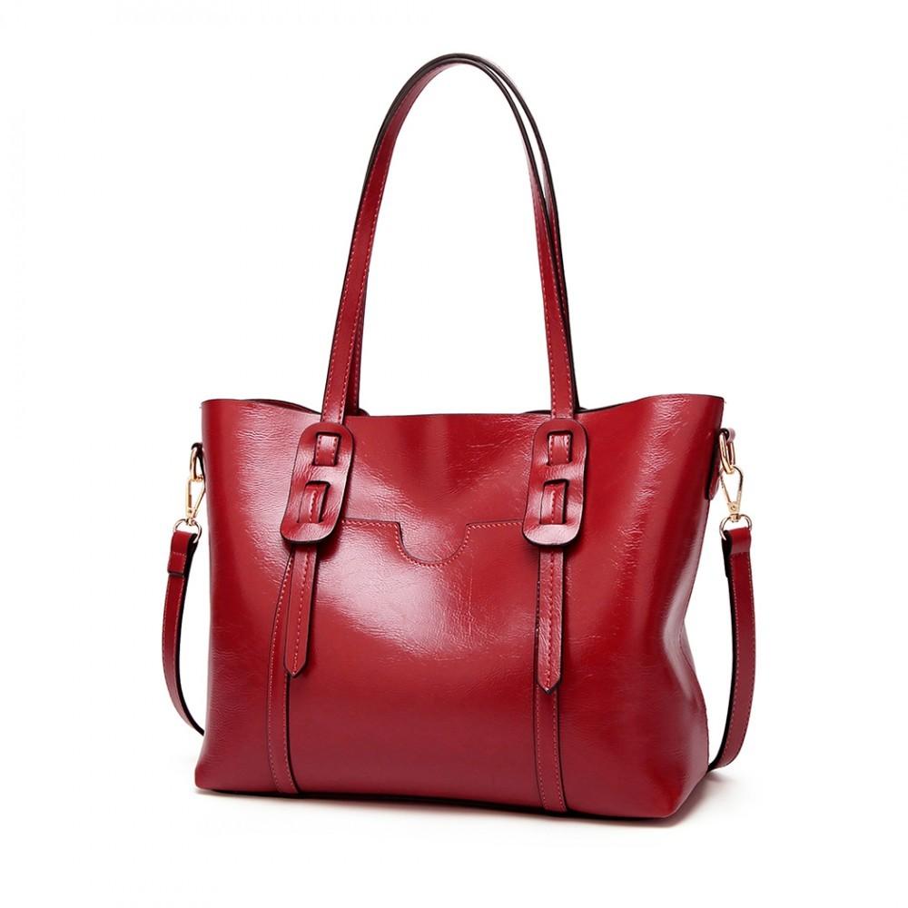241df6a51d Vínová dámská luxusní kabelka Laura
