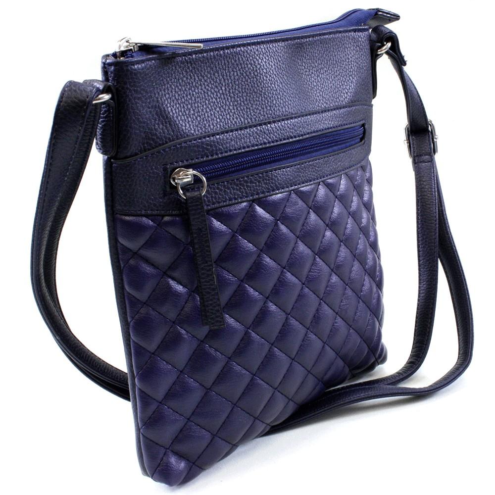e0a1a4f615 Modrá malá crossbody kabelka Ababa