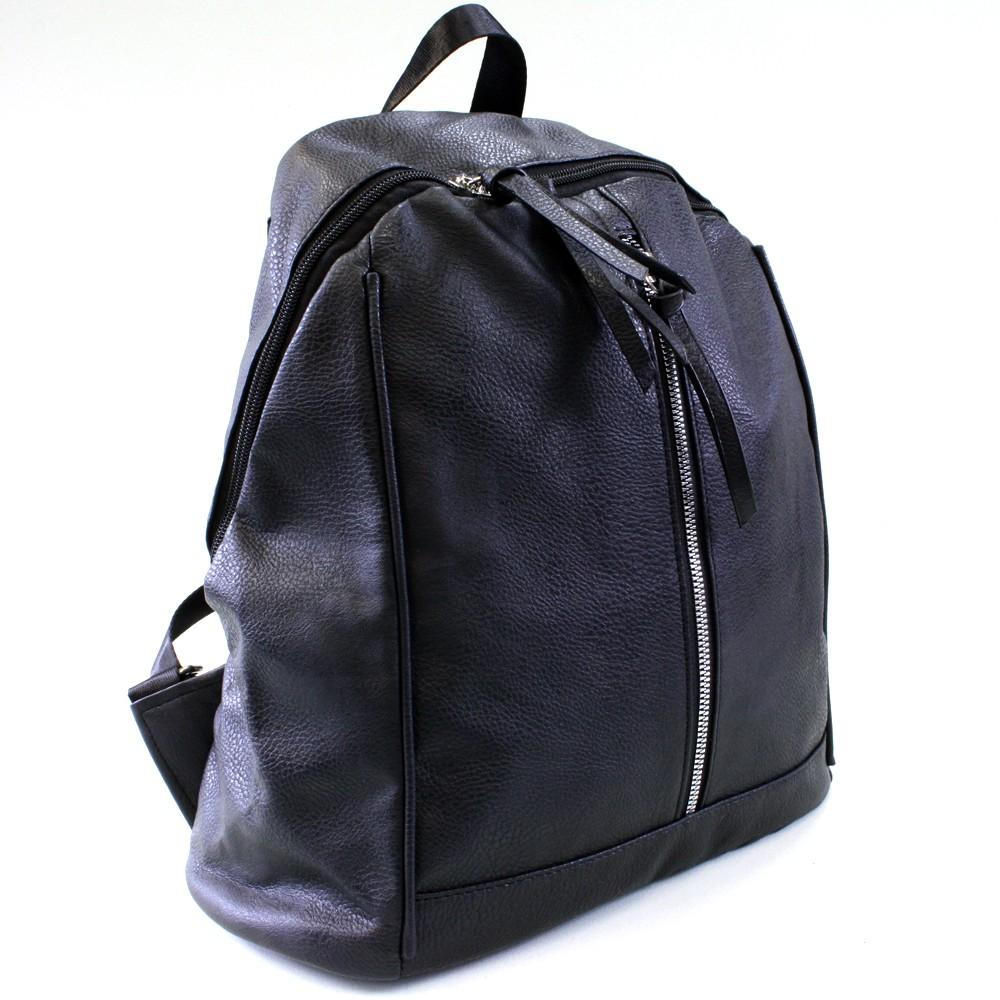 Černý praktický dámský batoh Abila