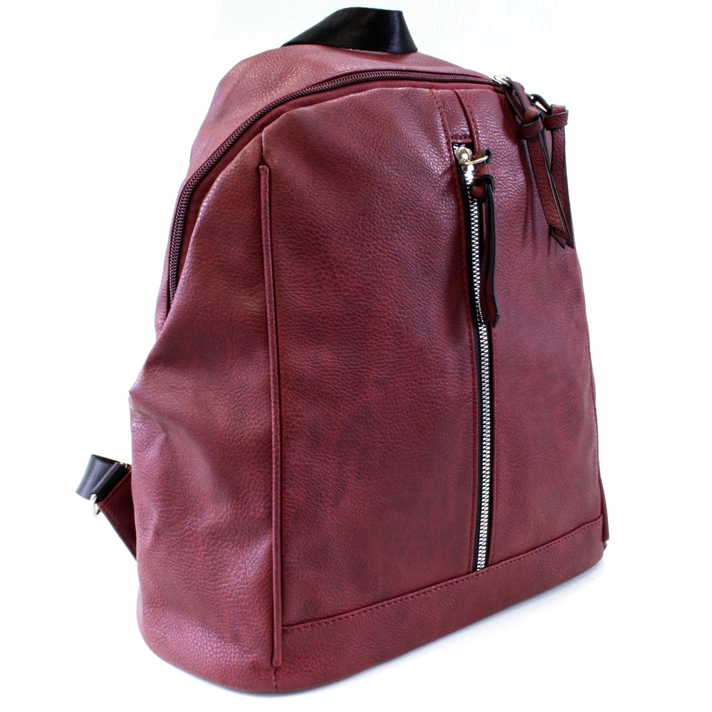 f458057337 Vínový praktický dámský batoh Abila