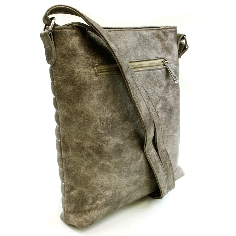 Platinová prošívaná kabelka Chaimal