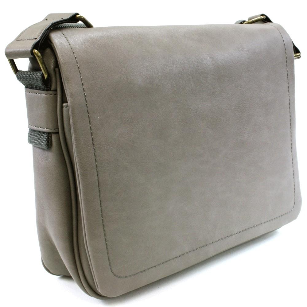 Šedá pánská taška přes rameno Dominic