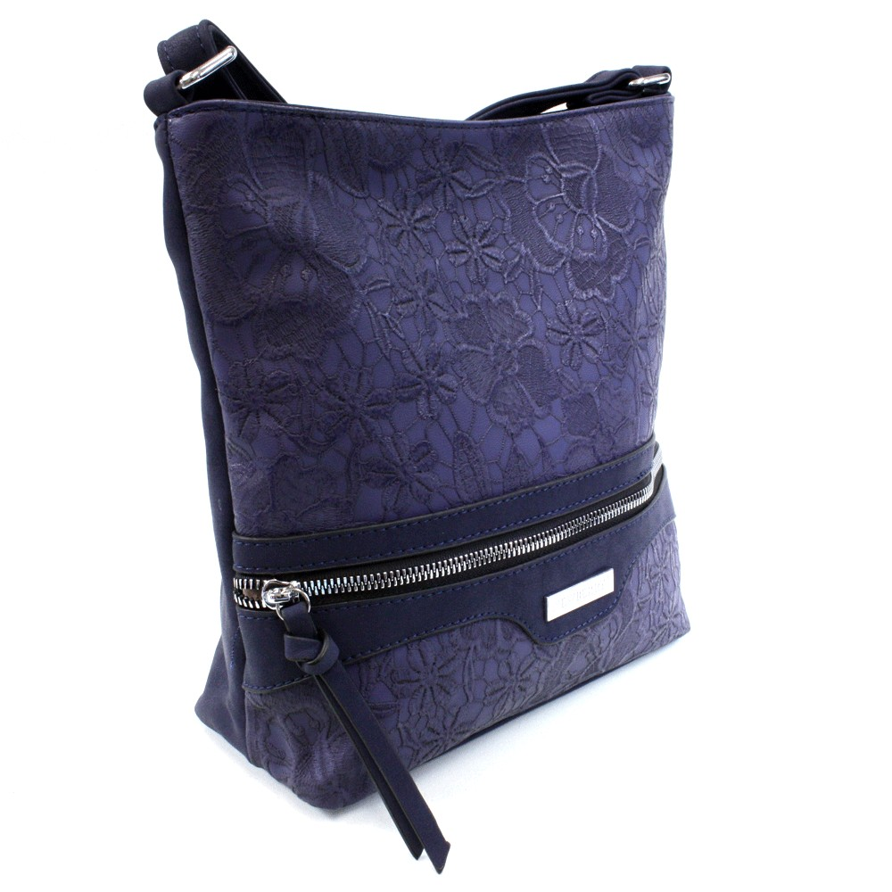 0df06ae94e Tmavě modrá atraktivní dámská crossbody kabelka Adham