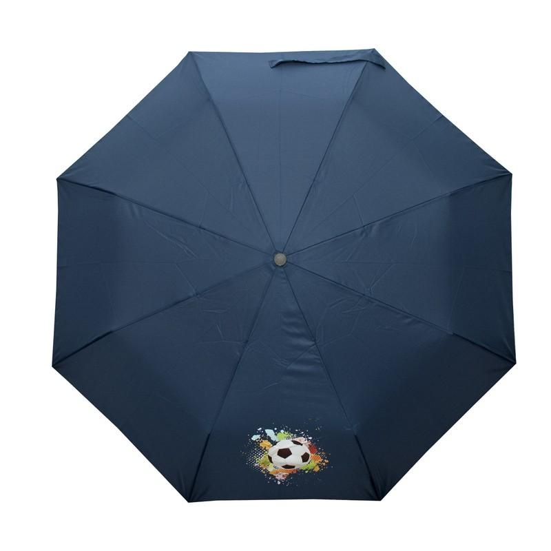 Tmavě modrý skládací mechanický dětský deštník Cairo