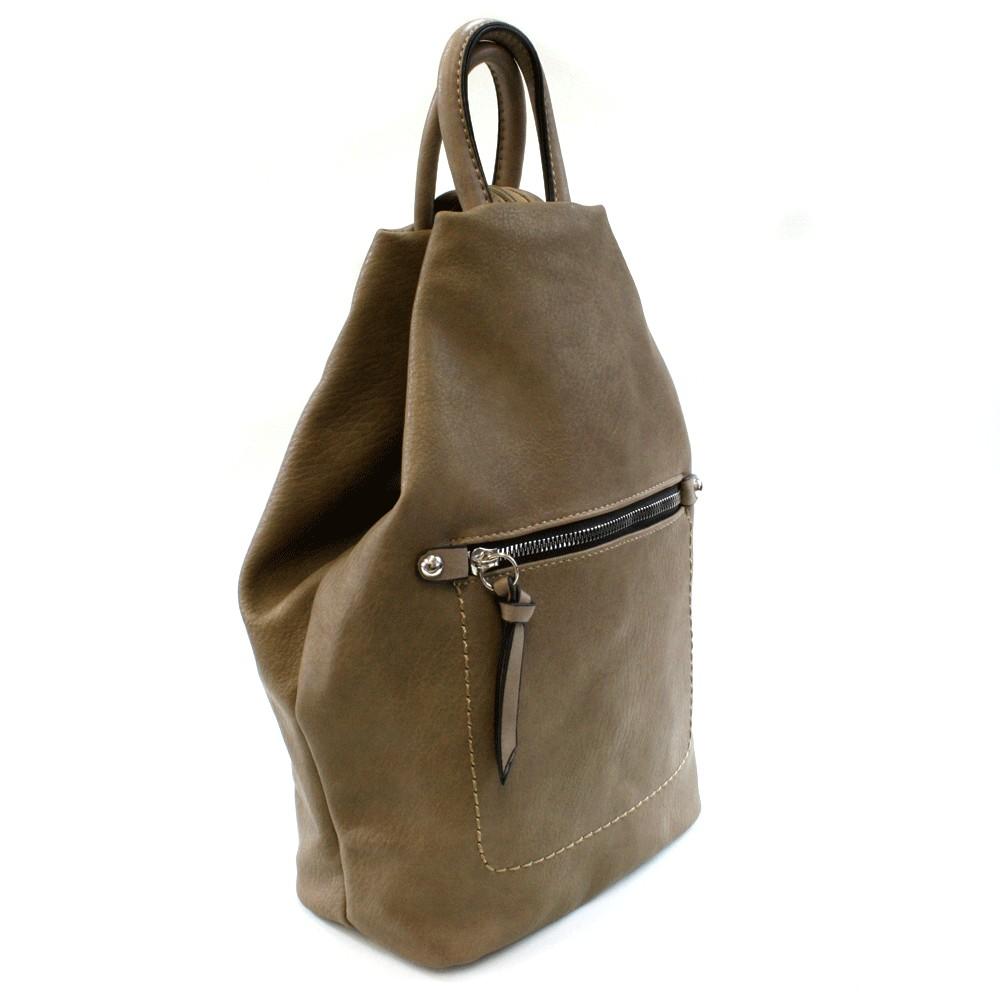 a54e3db20a Přírodně hnědý moderní dámský batoh Abony
