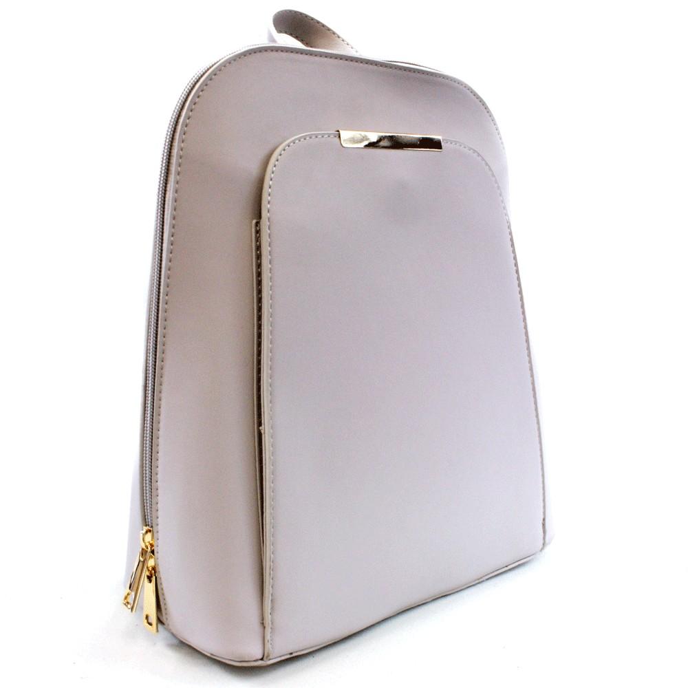 Světle šedý praktický dámský batoh Proten