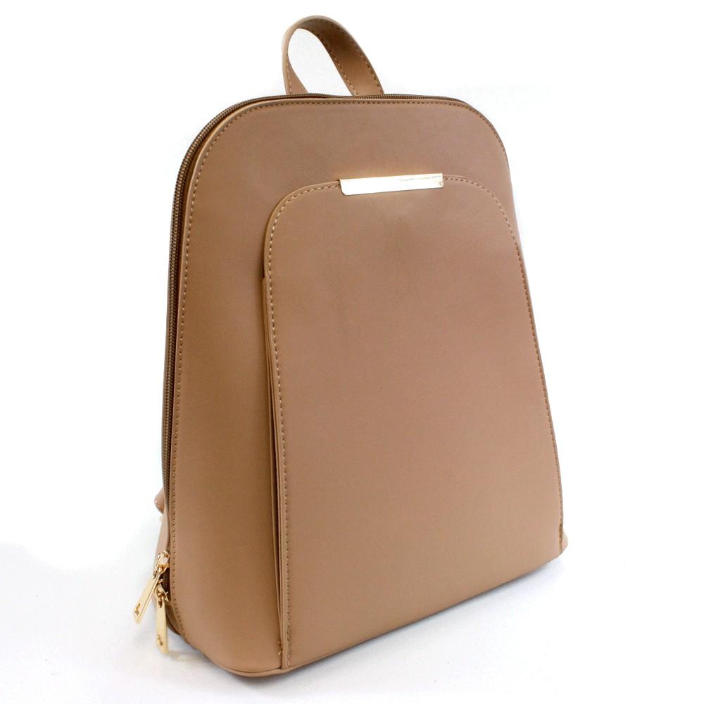 Světle hnědý praktický dámský batoh Proten
