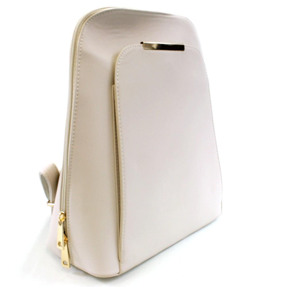 Světle béžový praktický dámský batoh Proten