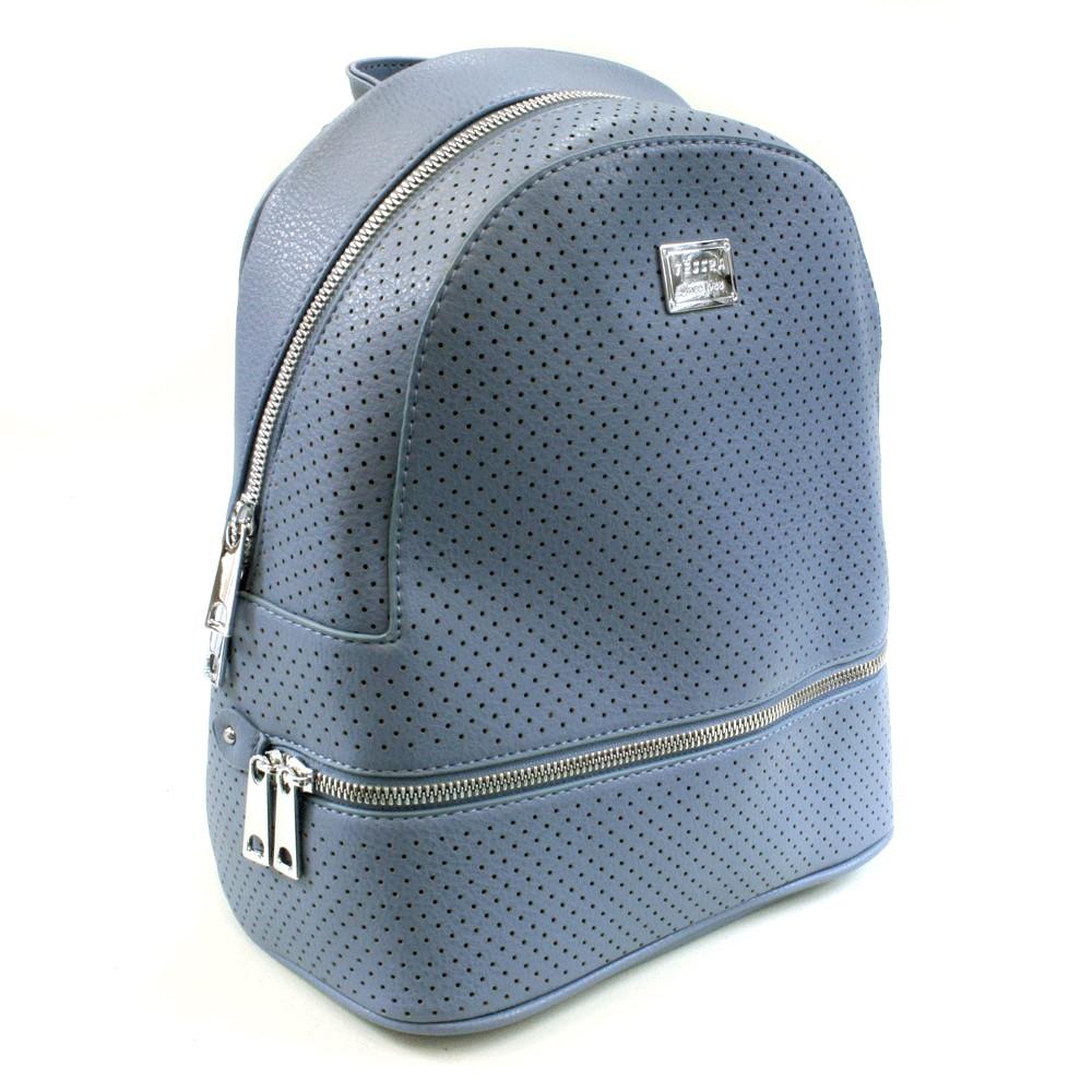 Modrý moderní dámský batoh Acira