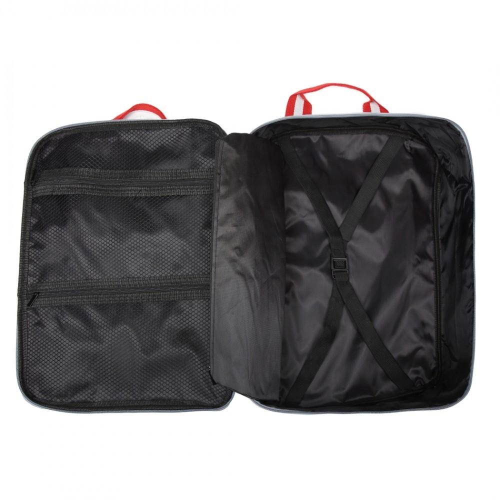 Stříbrná pánská příruční cestovní taška Abri