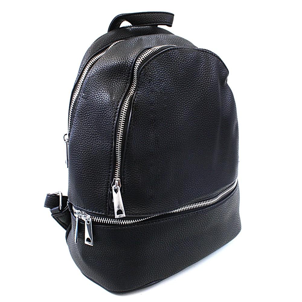 a954a58208 Černý dámský elegantní batoh Alagi