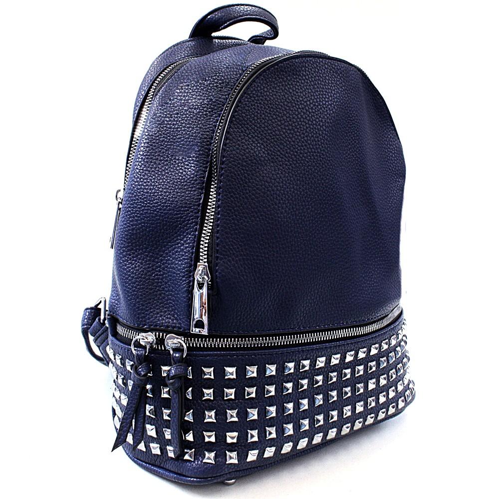 Modrý dámský netradiční batoh Vladen
