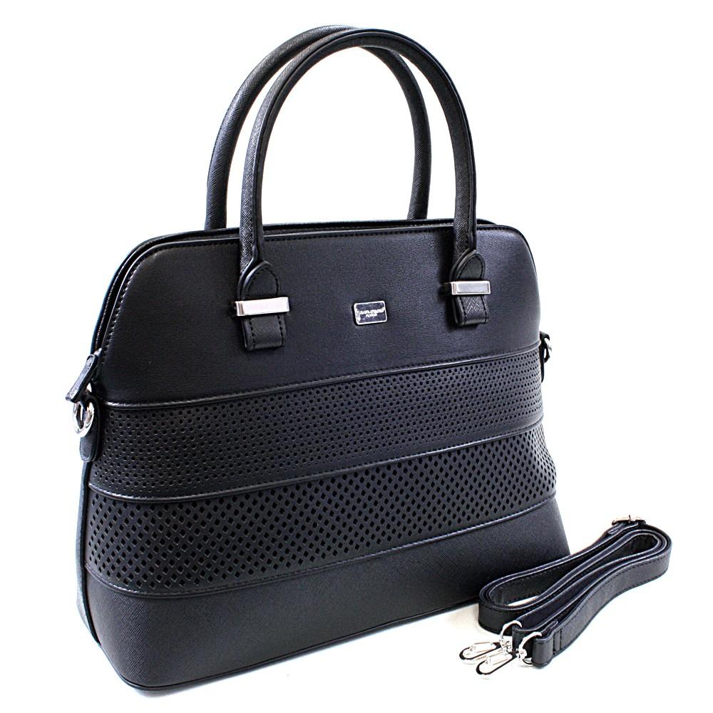 Černá dámská elegantní kabelka David Jones Zoondra