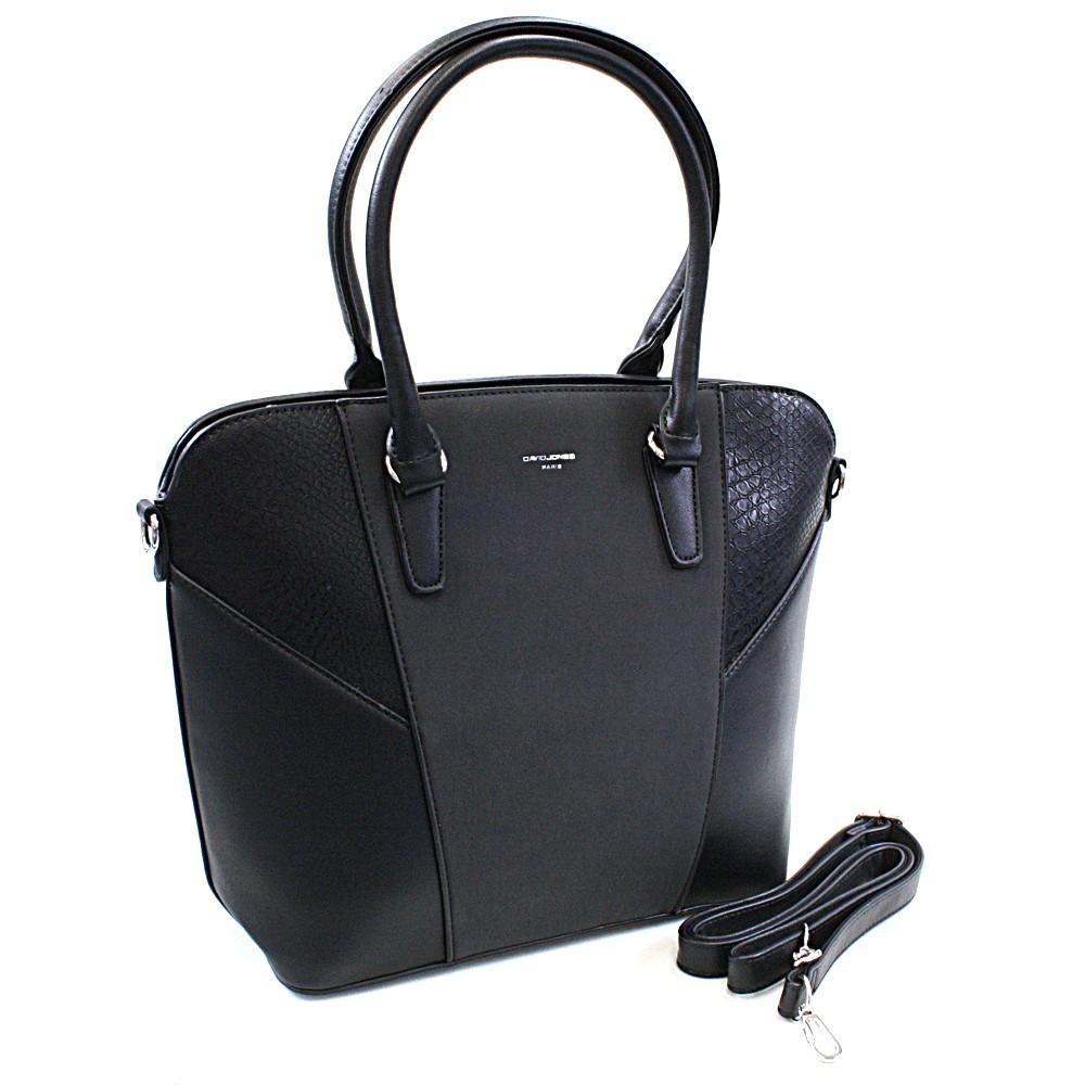 Černá elegantní dámská kabelka Wade