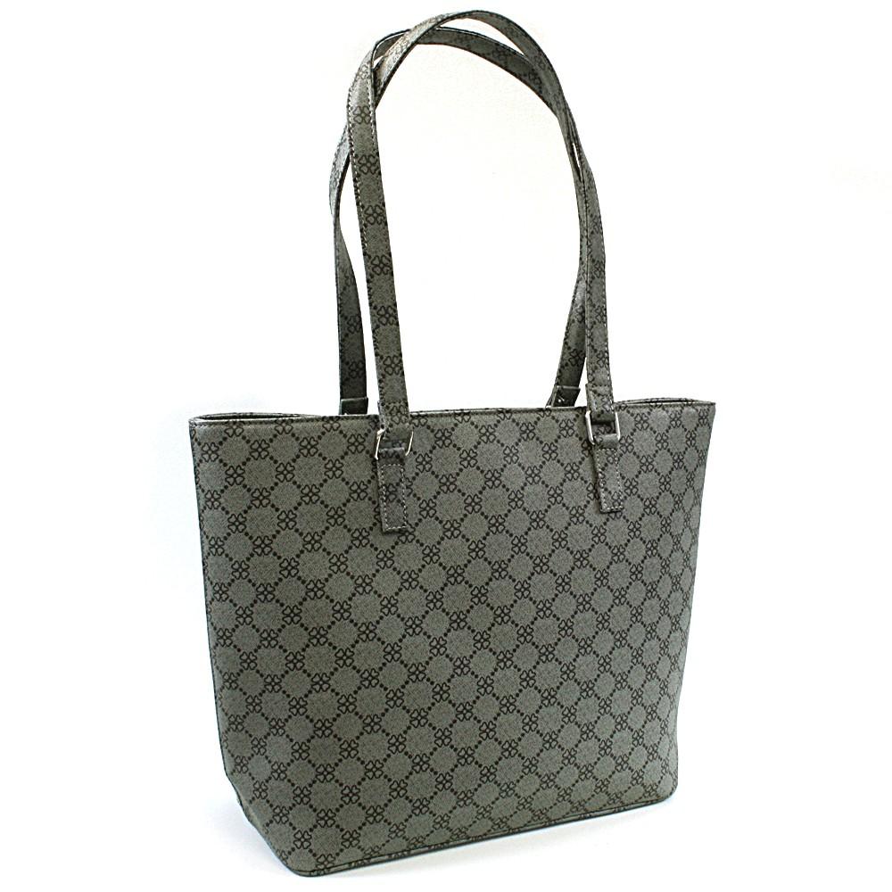 Šedá dámská luxusní kabelka přes rameno Qiana