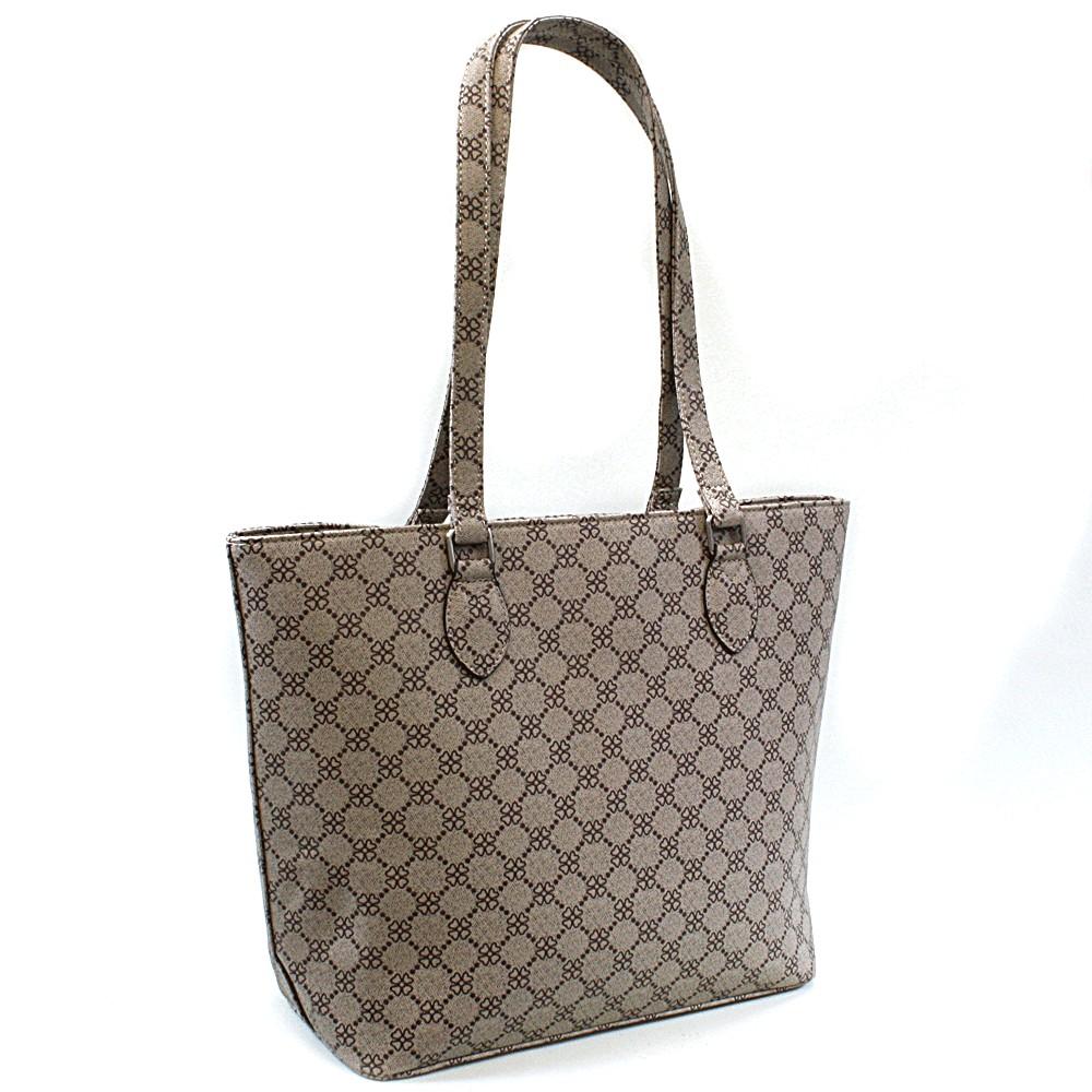 Hnědá dámská luxusní kabelka přes rameno Qiana