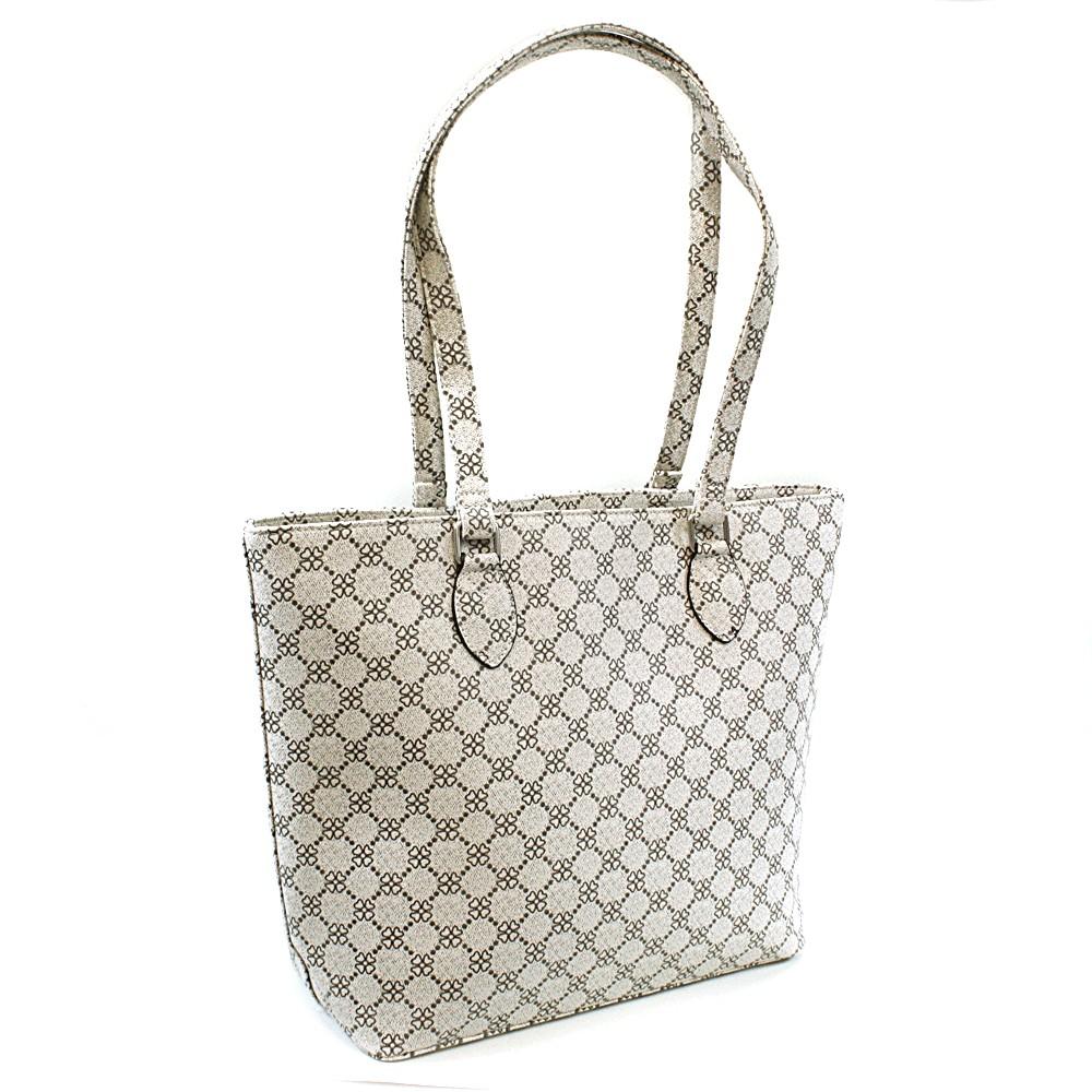 Bílá dámská luxusní kabelka přes rameno Qiana