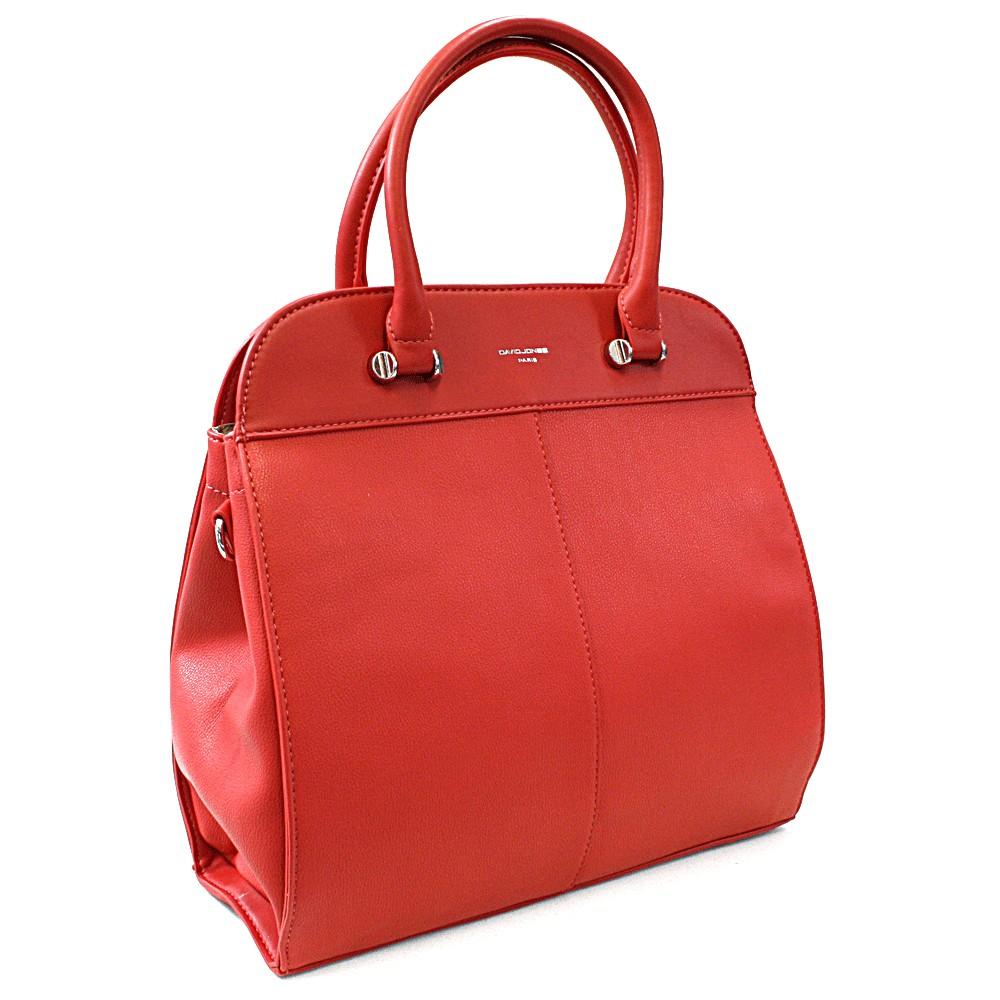 Červená dámská luxusní kabelka Parry