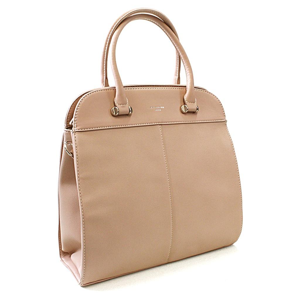 Růžová dámská luxusní kabelka Parry