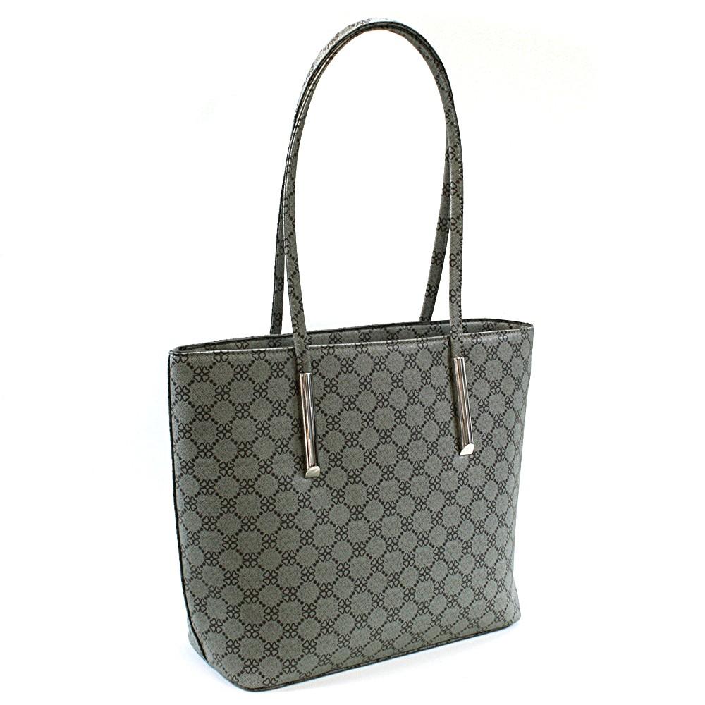 Šedá dámská luxusní kabelka přes rameno Pasha
