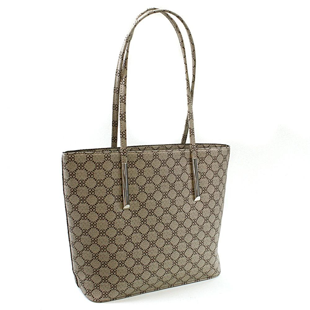 Hnědá dámská luxusní kabelka přes rameno Pasha