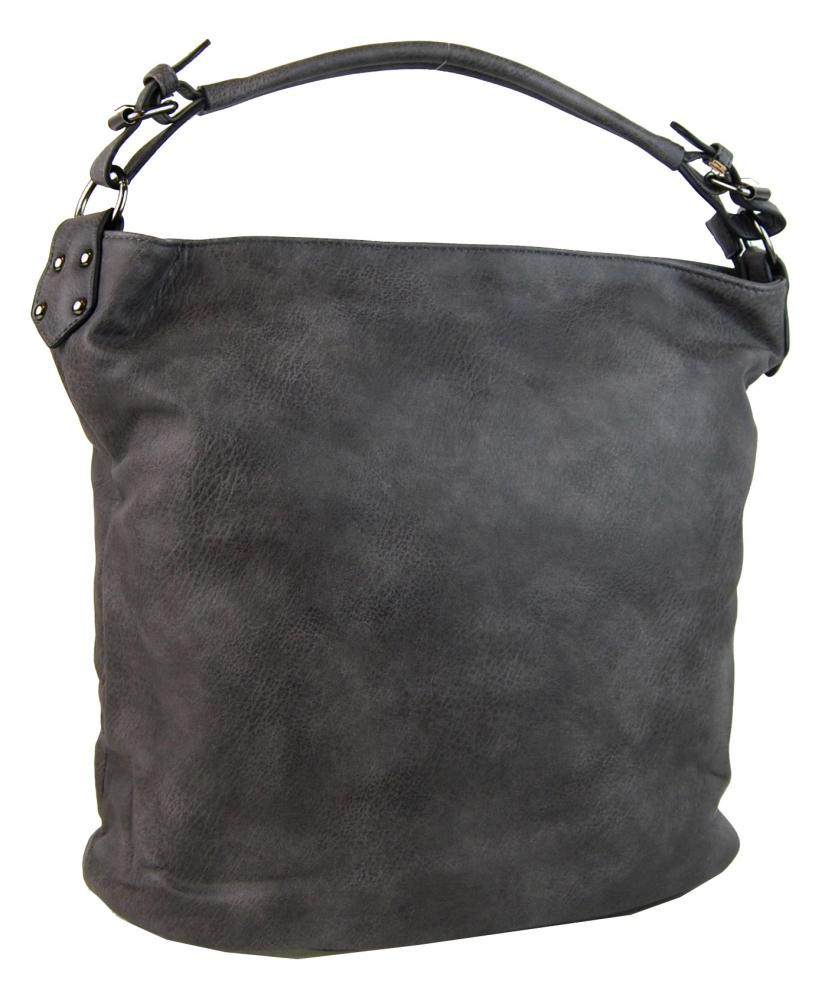 Tmavě šedá kabelka na rameno Dubhe