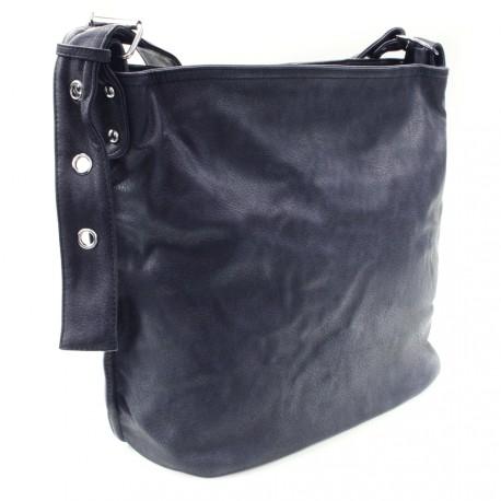 Tmavě modrá kabelka na rameno Shantelle