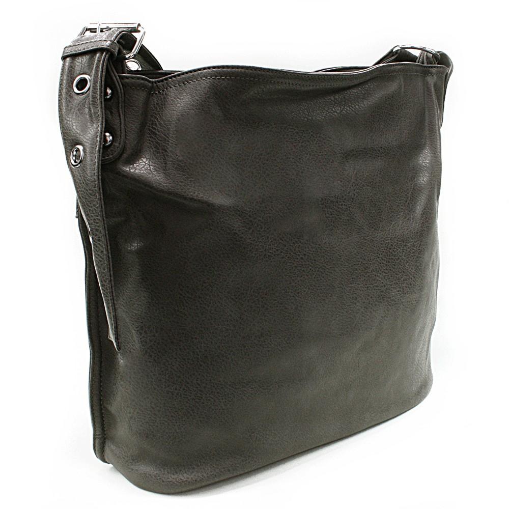Šedá kabelka na rameno Shantelle